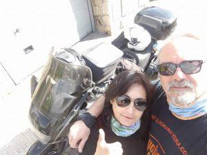 elisa, el pollo, la moto y yo